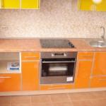Кухня из пластика 0009