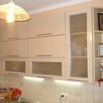 Кухня из пластика 0011