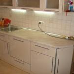 Кухня из пластика 0012