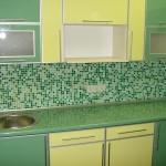 Кухня из пластика 0014
