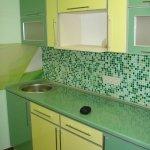 Кухня из пластика 0016