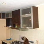 Кухня из пластика 0027