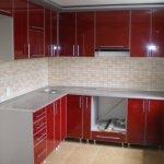 Кухня из пластика 0045