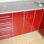 Кухня из пластика 0048