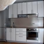 Кухня из пластика 0071