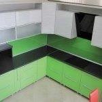 Кухня из пластика 0092