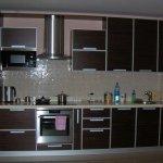 Кухня из пластика 0107