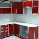 Кухня из пластика 0113