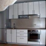 Кухня из пластика 0115