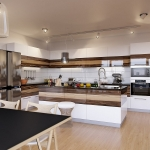 008 кухня с фотофасадом