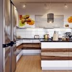 009 кухня с фотофасадом