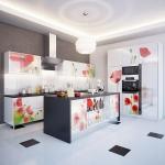 011 кухня с фотофасадом